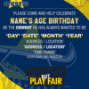 North Queensland Cowboys Party Invitations