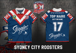 Sydney City Roosters PERSONALISED Poster