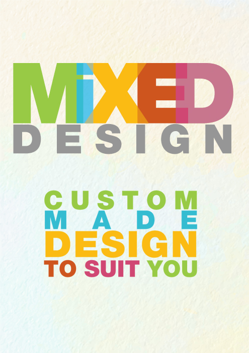 Mixed Design Custom Design Party Invitations