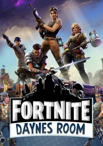 Fortnite Personalised Wall Poster