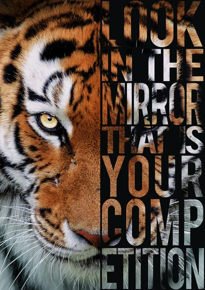 Look in the Mirror that is your Competition Poster