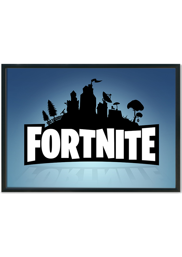 Fortnite Logo Wall Poster Prints Your Way At Mixed Design