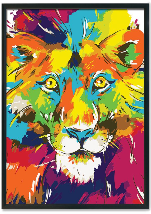 Colourful-lion