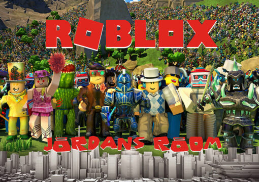 Roblox Personalised Wall Poster