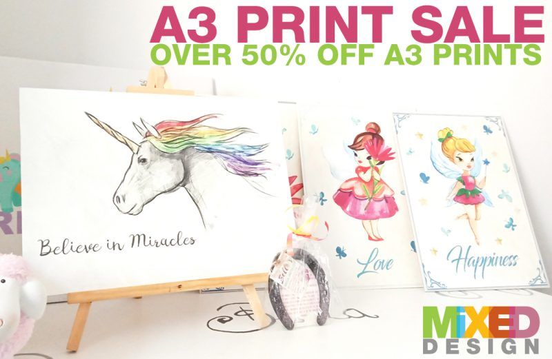 The A3 Print Sale!