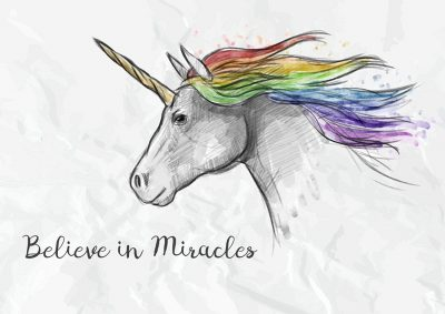 Unicorn Believe in Miracles