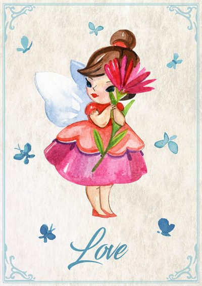 Flower Fairy Love
