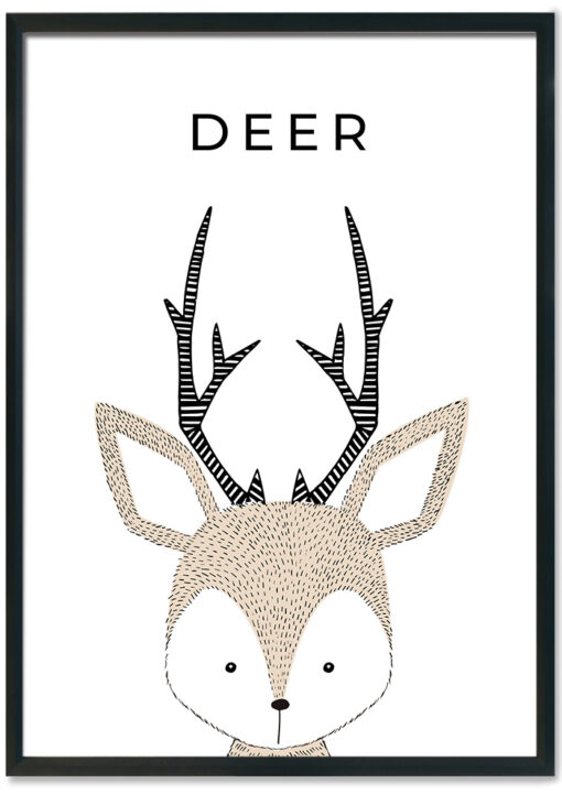 hand-drawn-nursery-deer