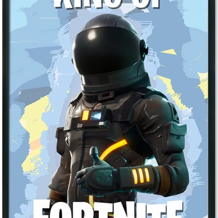 King/Queen of Fortnite Poster