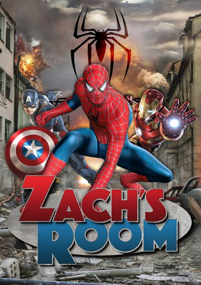 Spiderman Heroes room poster