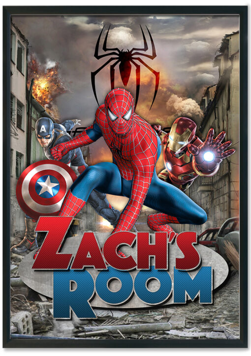 Spiderman-Room