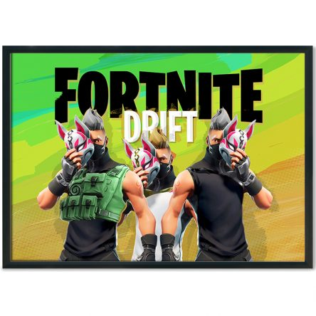 Fortnite Drift Poster