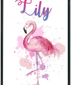 Watercoloured-Flamingo