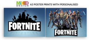 A3 Fortnite Poster Prints