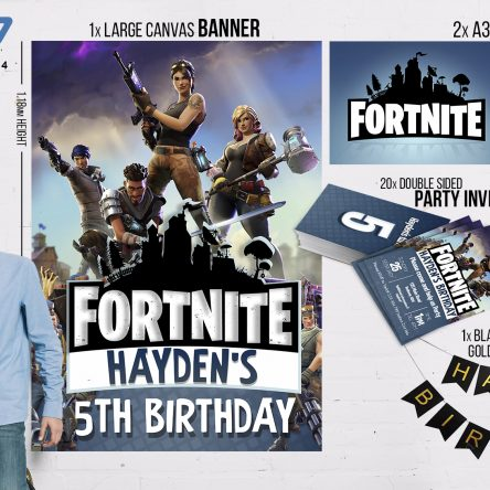 Fortnite Party Pack