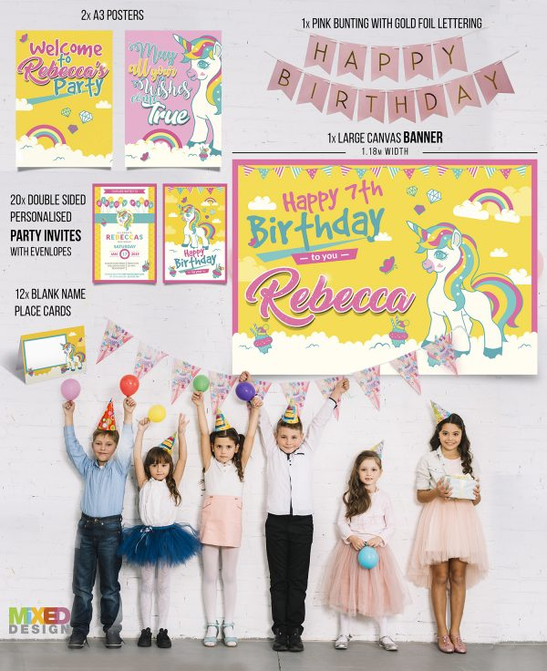 Unicorn Party Pack - All items