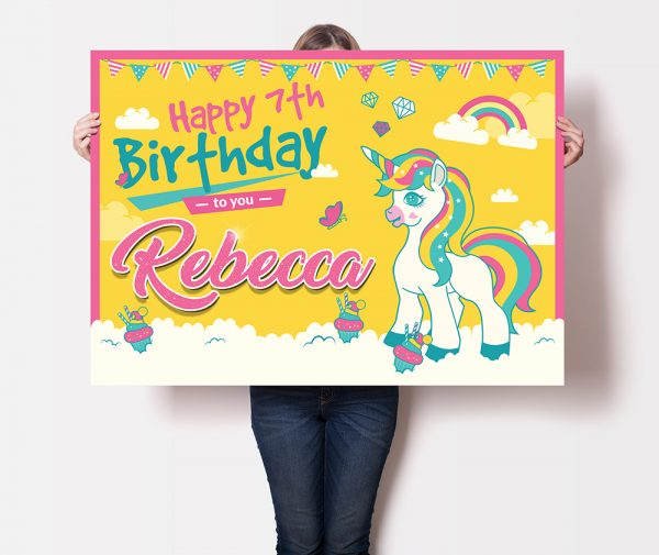 Unicorn Party Pack - Banner