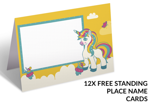Unicorn Party Pack - Placecards