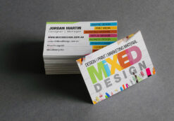 Mixed Design Business Cards