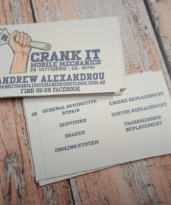 Crank IT Business Cards