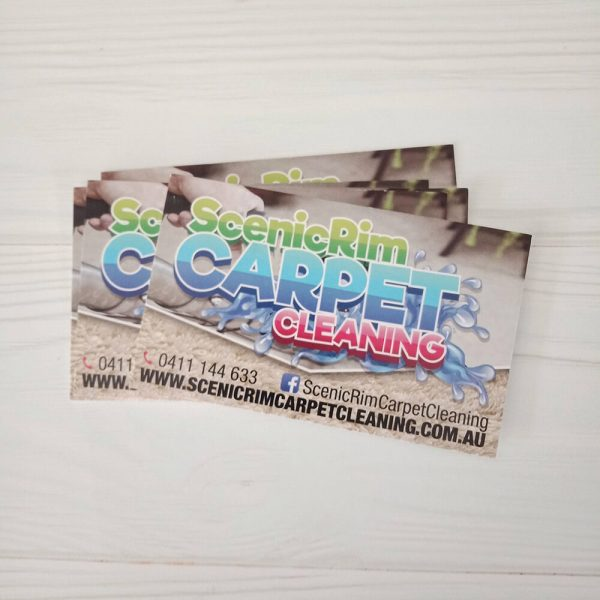 Scenic Rim Carpet Cleaning Business Cards