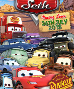 Cars Movie Print
