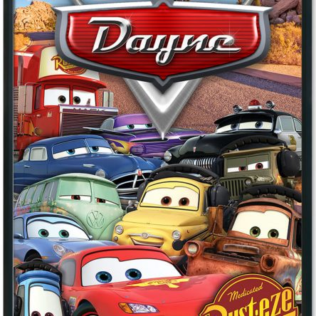 Cars Movie Personalised Print
