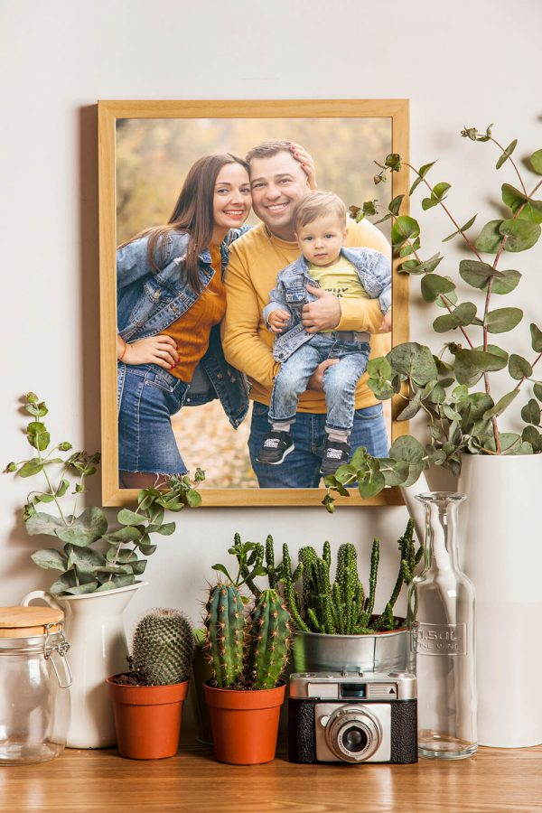 Photo Poster Prints - Custom Photo Print mock display