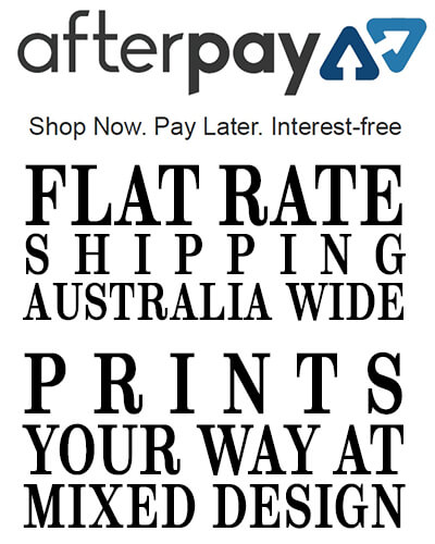 afterpay flat rate shipping