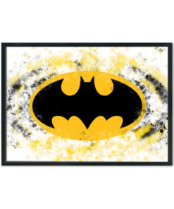 batman Logo Splash print