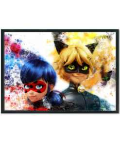 Miraculous: Tales of Ladybug & Cat Noir Splash Prints
