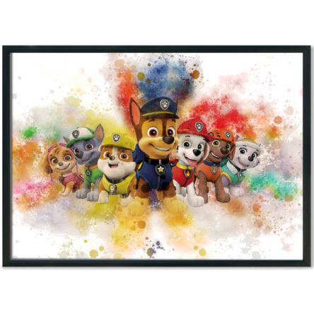Paw Patrol Splash Prints