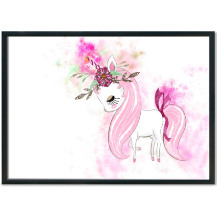 Unicorn Beauty Splash Print