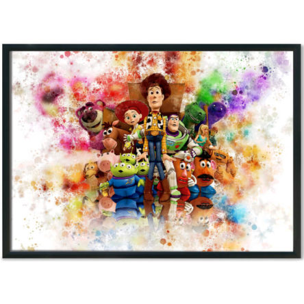 Toy Story 3 Splash Print
