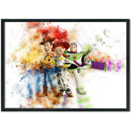 Toy Story Splash Print