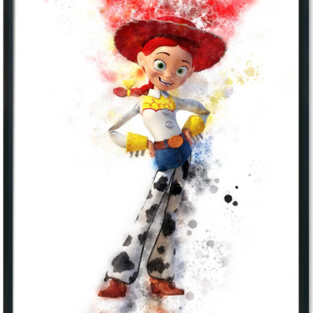 Toy Story Jessie Splash Print