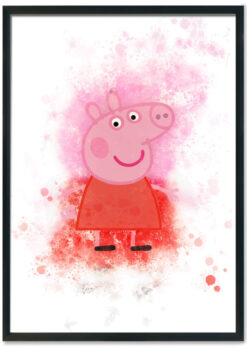 Peppa Pig Splash Print