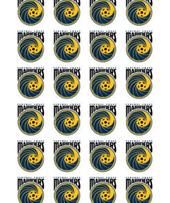 Central Coast Mariners Cake Toppers