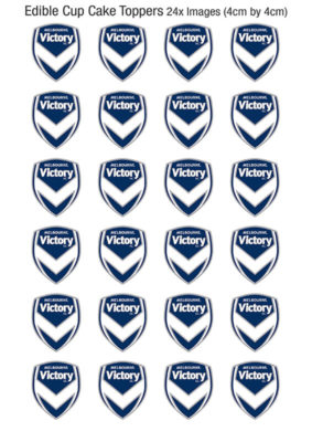 Melbourne Victory Cupcakes