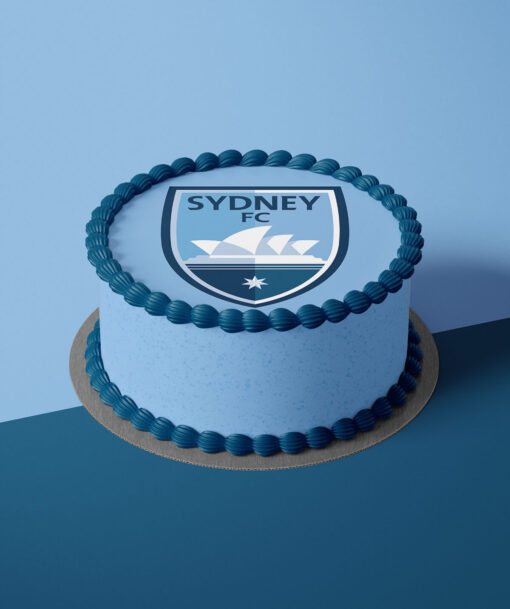 Sydney FC Cake Toppers