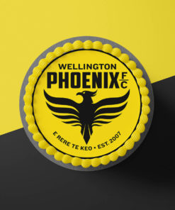 Wellington Phoenix Cake topper