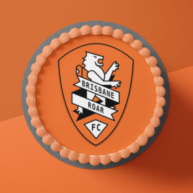 Brisbane Roar Cake Topper