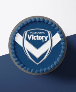Melbourne Victory Cake Topper