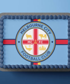 Melbourne City FC Cake Topper