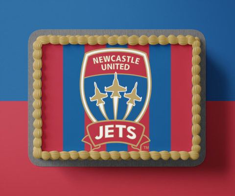 Newcastle Jets Edible Image