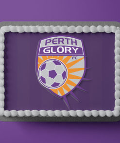 Perth Glory Edible Cake Topper