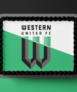 Western United Edible Cake Topper